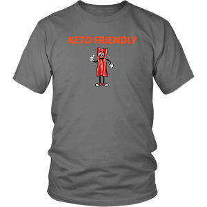 Keto Friendly Awww Bacon Unisex T-Shirt #keto