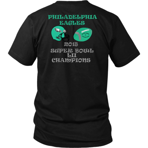 Philadelphia Eagles 2018 Super Bowl LII Champions Unisex T-Shirt gift