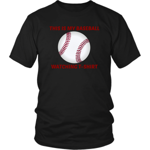 This Is My Baseball Watching T-Shirt gift father's day gift