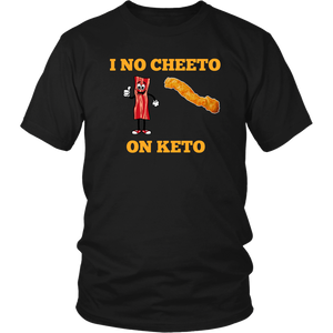 I no cheeto On Keto Unisex Tee