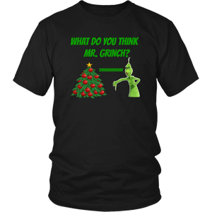 What Do You Think Mr. Grinch? gift, christmas, teens, adults