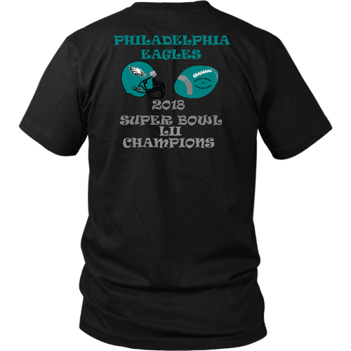 Philadelphia Eagles 2018 Super Bowl LII Champions Unisex T-Shirt