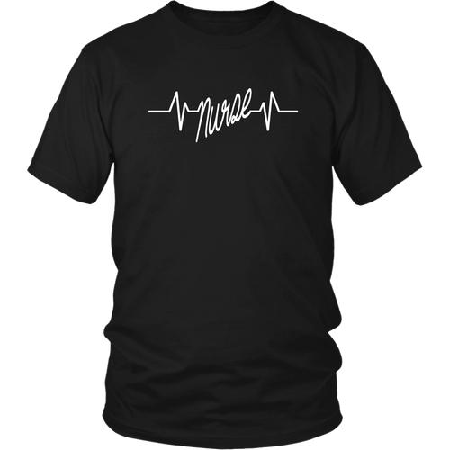 Nurse In Heartbeat Line Unisex T-Shirt