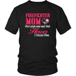 Firefighter Mom Unisex T-Shirt Mother's Day Gift