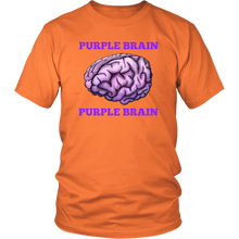 Purple Brain Unisex T-Shirt