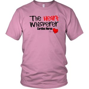 Heart Whisperer Cardiac Nurse Unisex T-Shirt