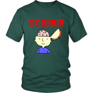 My Brain Has Too Many Tabs Open Unisex T-Shirt