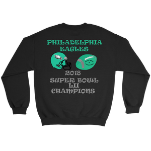 Philadelphia Eagles 2018 Super Bowl LII Champions Crewneck Sweatshirt gift