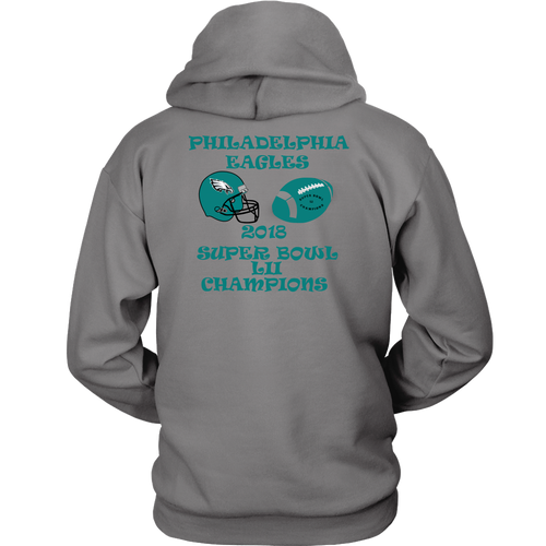 Philadelphia Eagles 2018 Super Bowl LII Champions Unisex Hoodie