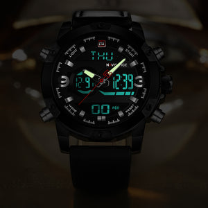 Montre à Quartz pour Homme NAVIFORCE Influence NOIR & OR