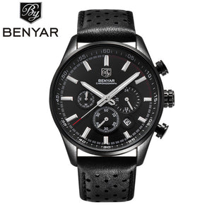 Montre à Quartz pour Homme BENYAR BUSINESS 2017 Full BLACK