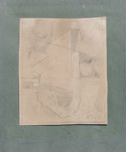 Kurt Schwitters – Pencil on paper