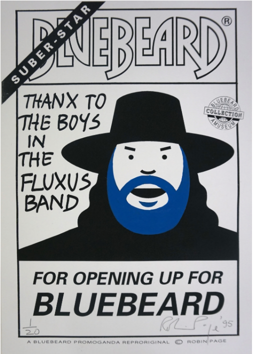 Robin Page - THANX TO THE BOYS IN THE FLUXUS BAND