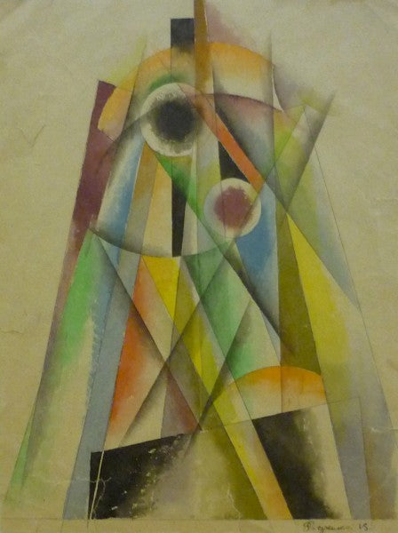Alexander Rodtschenko – abstract pyramidal Composition