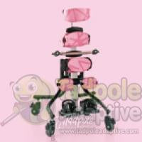 Leckey  Squiggles Stander Pivot Base: Gas operated. Includes four locking casters. (90° – 170°)