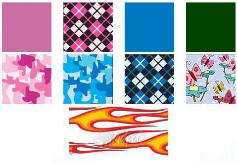 Kaye Walker Decals - All Colors & Designs