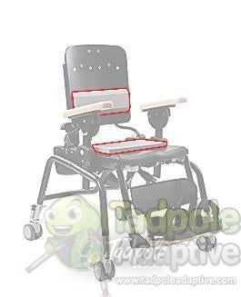 Rifton Small Lumbar and Seat Support Kit (R886)