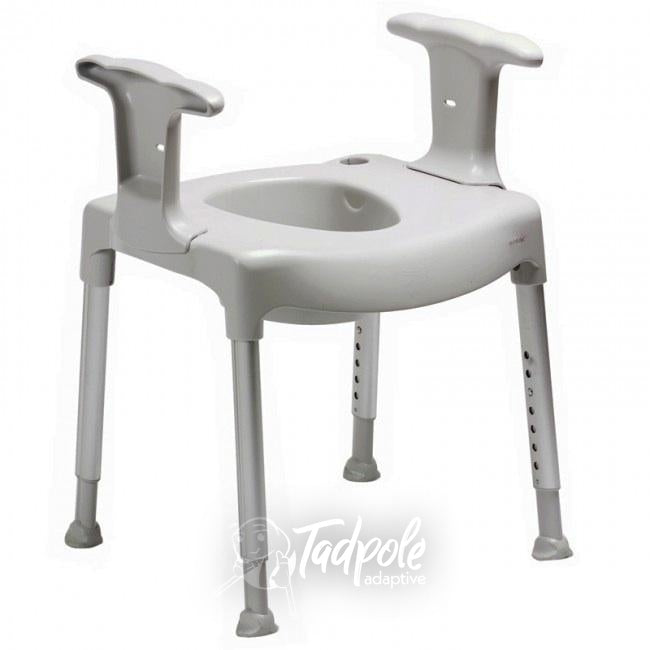 Etac Swift free-standing toilet seat raiser