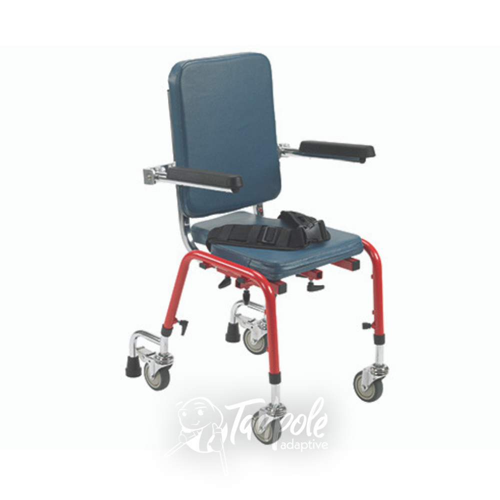 Inspired by Drive First Class School Chair with optional mobility legs.