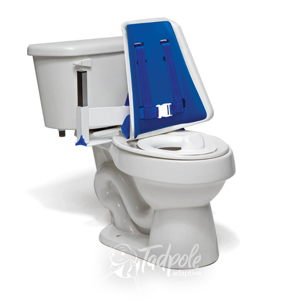 Inspired by Drive Contour Series Toilet Support High Back on Toilet.
