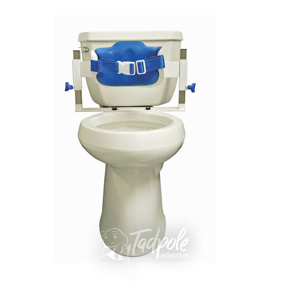 Inspired by Drive Contour Series Toilet Support  Low Back on Toilet.
