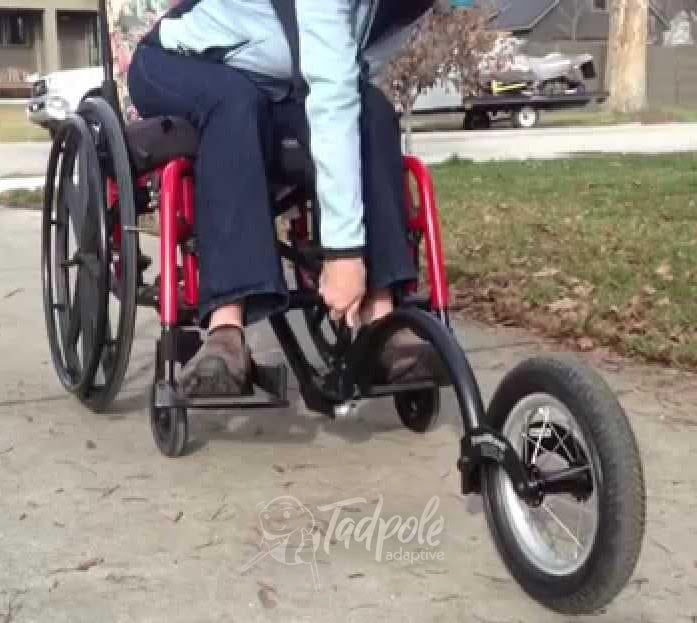 Folding Wheelchair FreeWheel Kit