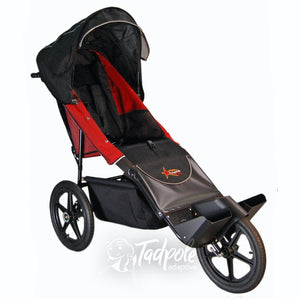 Adaptive Star Axiom Endeavour Red Indoor/Outdoor Mobility Jogger.