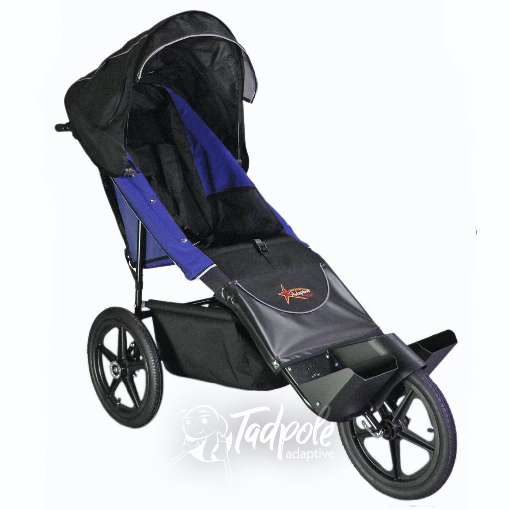 Adaptive Star Axiom Endeavour Blue Indoor/Outdoor Mobility Jogger.