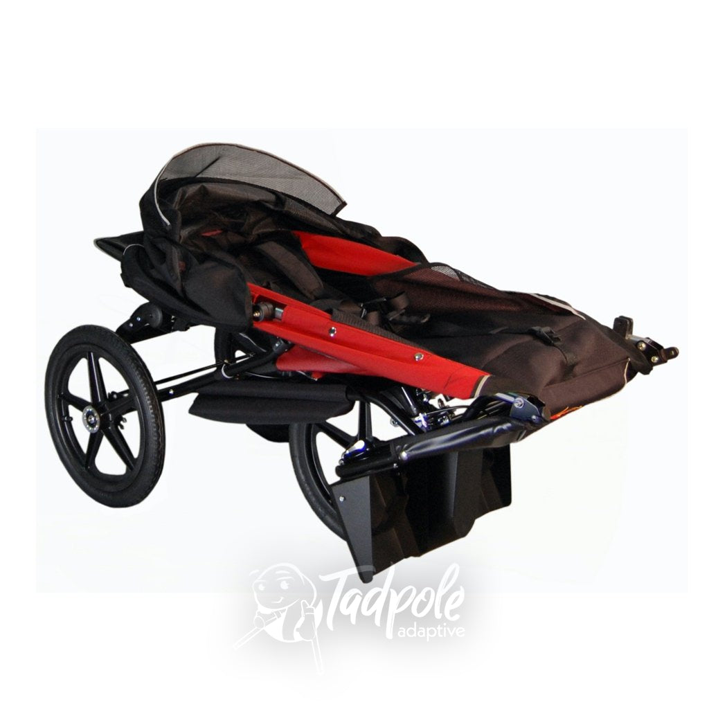 Adaptive Star Axiom EndeavourAxiom Endeavour Indoor/Outdoor Mobility Jogger, folded with wheels on.