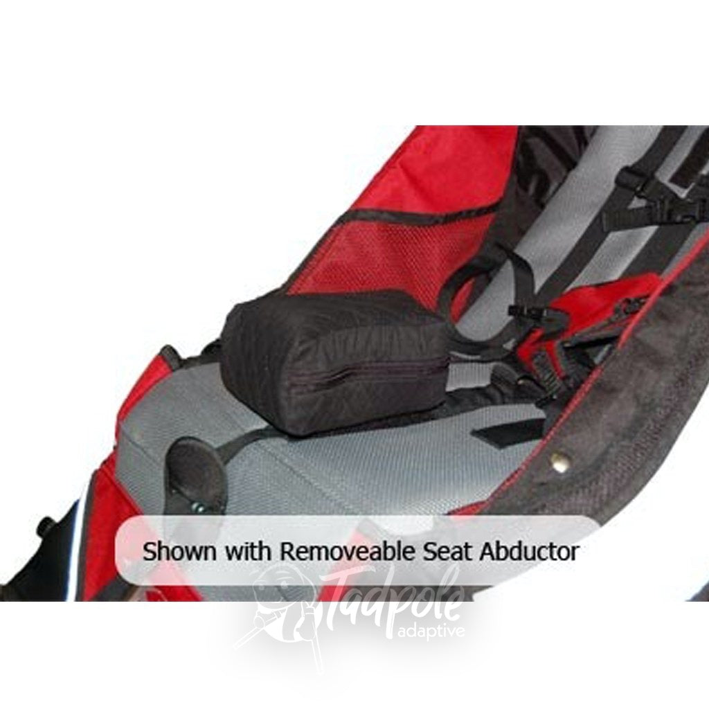 Axiom Improv Optional accessories Indoor/Outdoor Mobility Jogger include an abduction block.