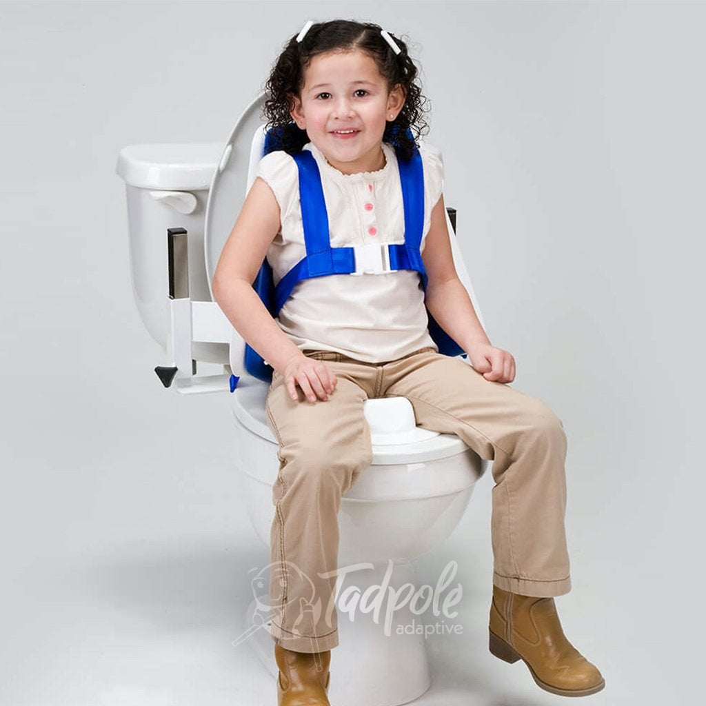 Inspired by Drive Contour Series Child sitting on toilet