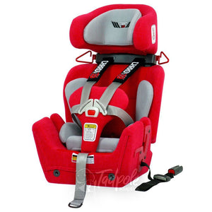 Convaid Carrot 3 Special Needs Carseat, main image in Red.