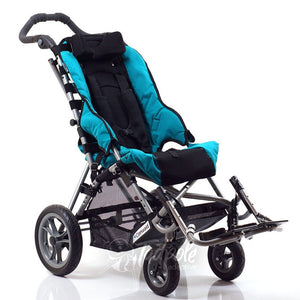 Convaid Cruiser Special Needs Stroller, main image, in Aqua Blue.