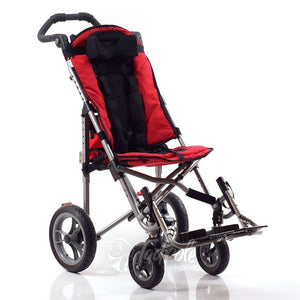 Convaid EZ Rider Stroller, main image, in Cherry Red.