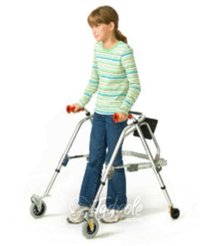 Kaye Posture Rest Walker 'H' Frame Style (with Seat)