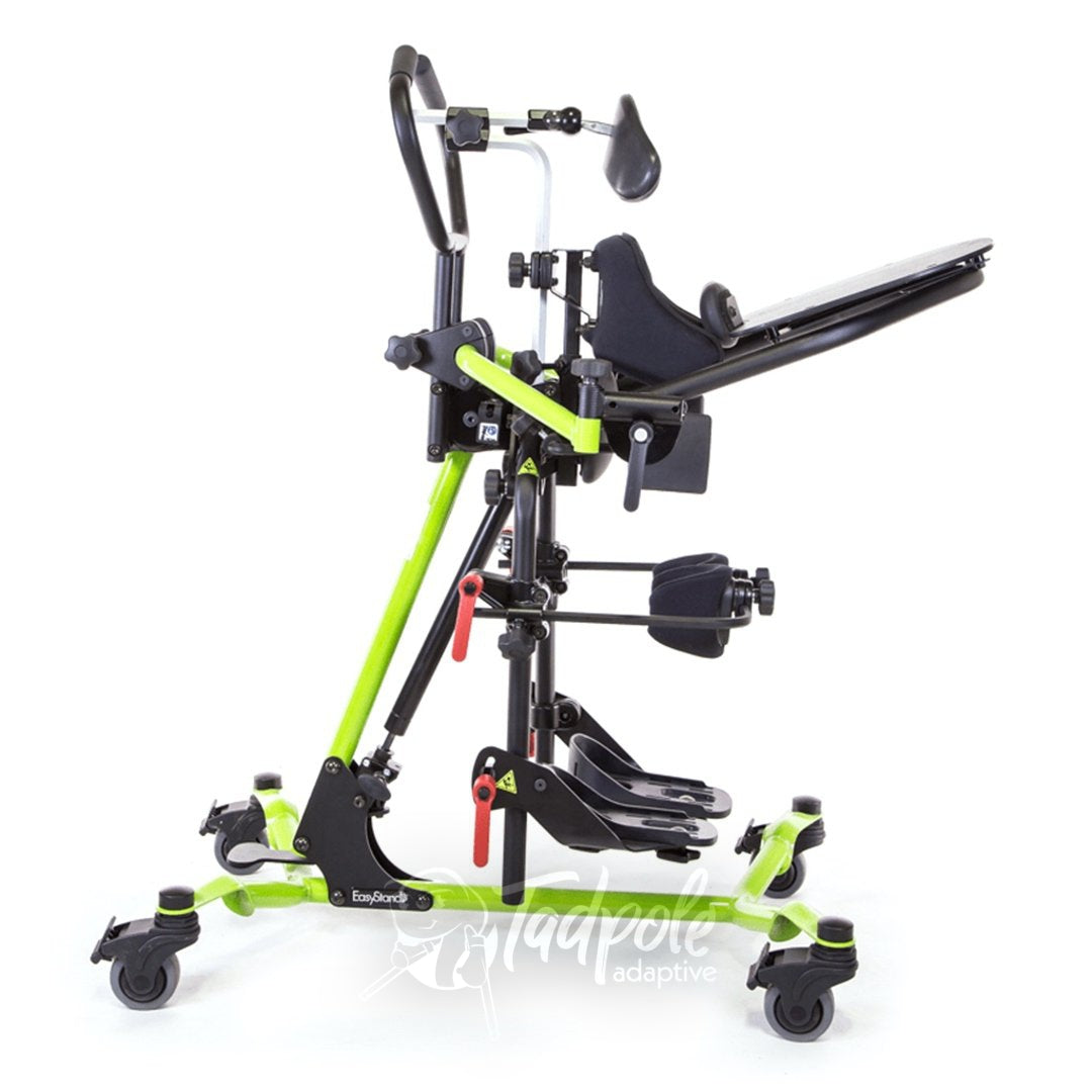 of EasyStand Zing MPS Size 1 Side view in full upright mode.