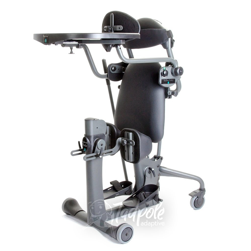 EasyStand Evolv Large, standing position with Shadow Tray.