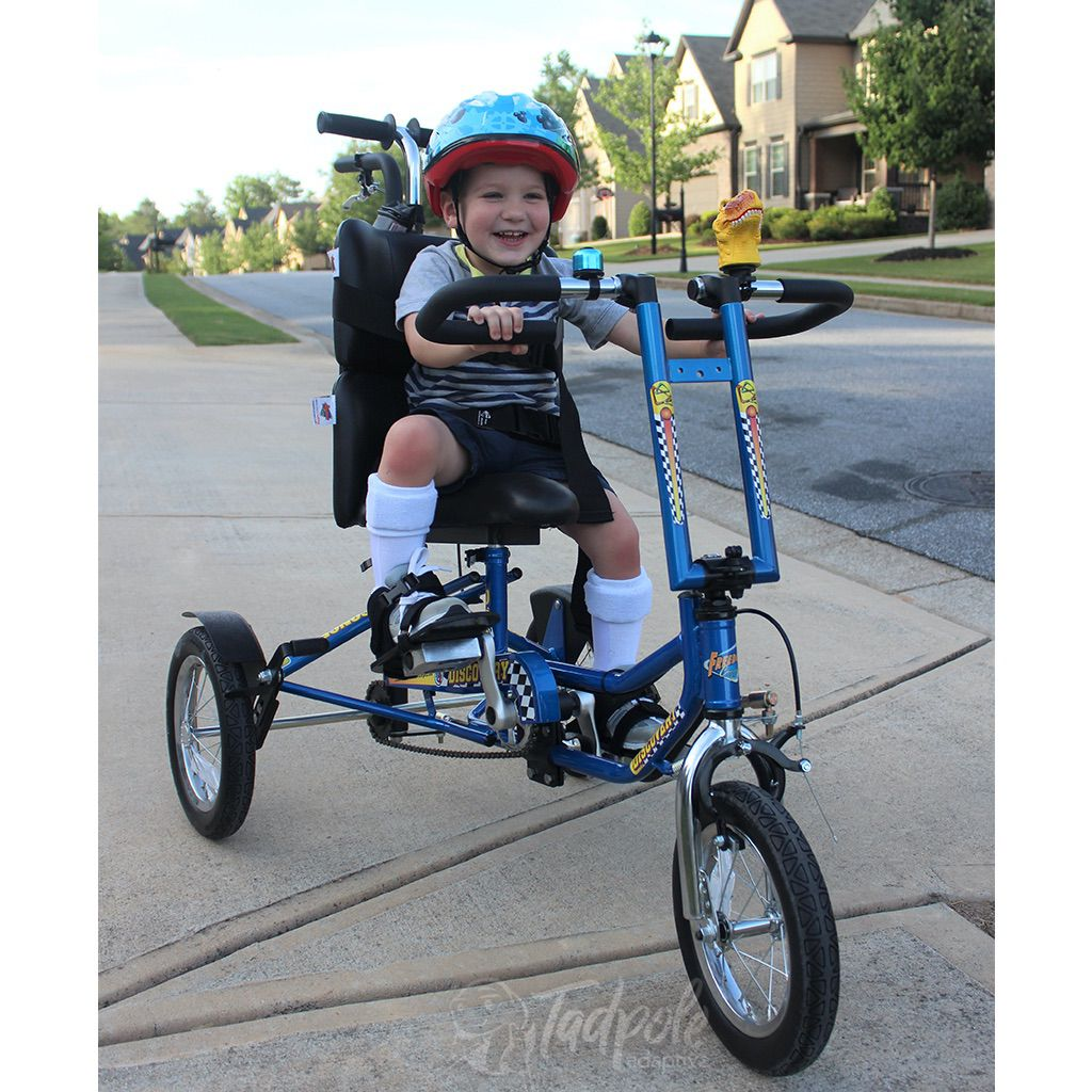 Freedom Concepts Discovery Series DCP 12: Rear Steer Special Edition Adaptive Tricycle