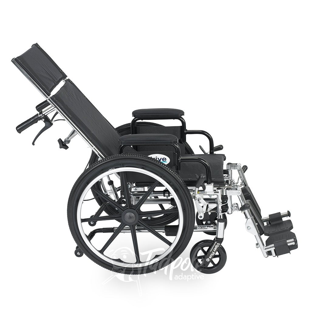 Inspired by Drive Pediatric Viper Plus Reclining Wheelchair Tilt View