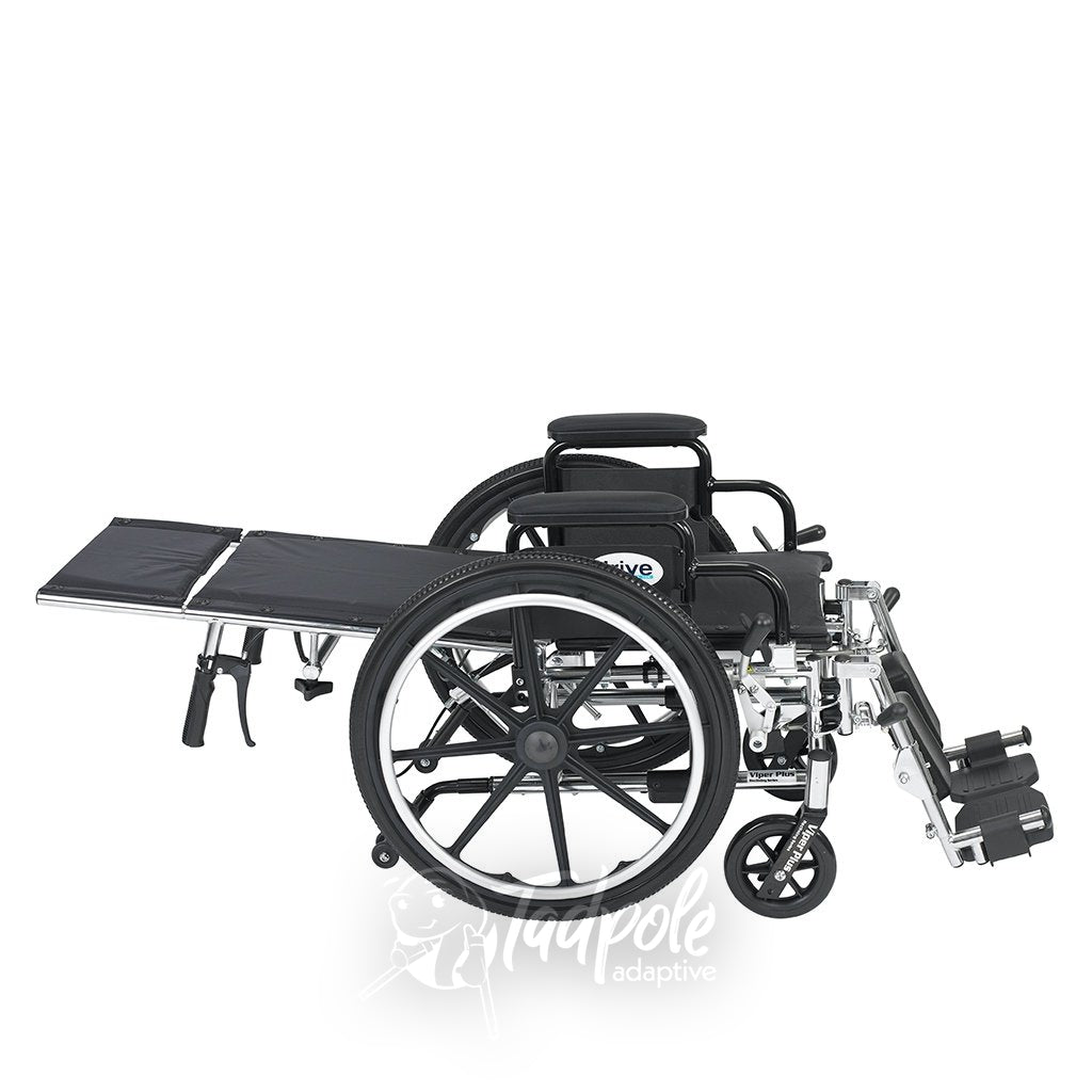 Inspired by Drive Pediatric Viper Plus Reclining Wheelchair Horizontal View