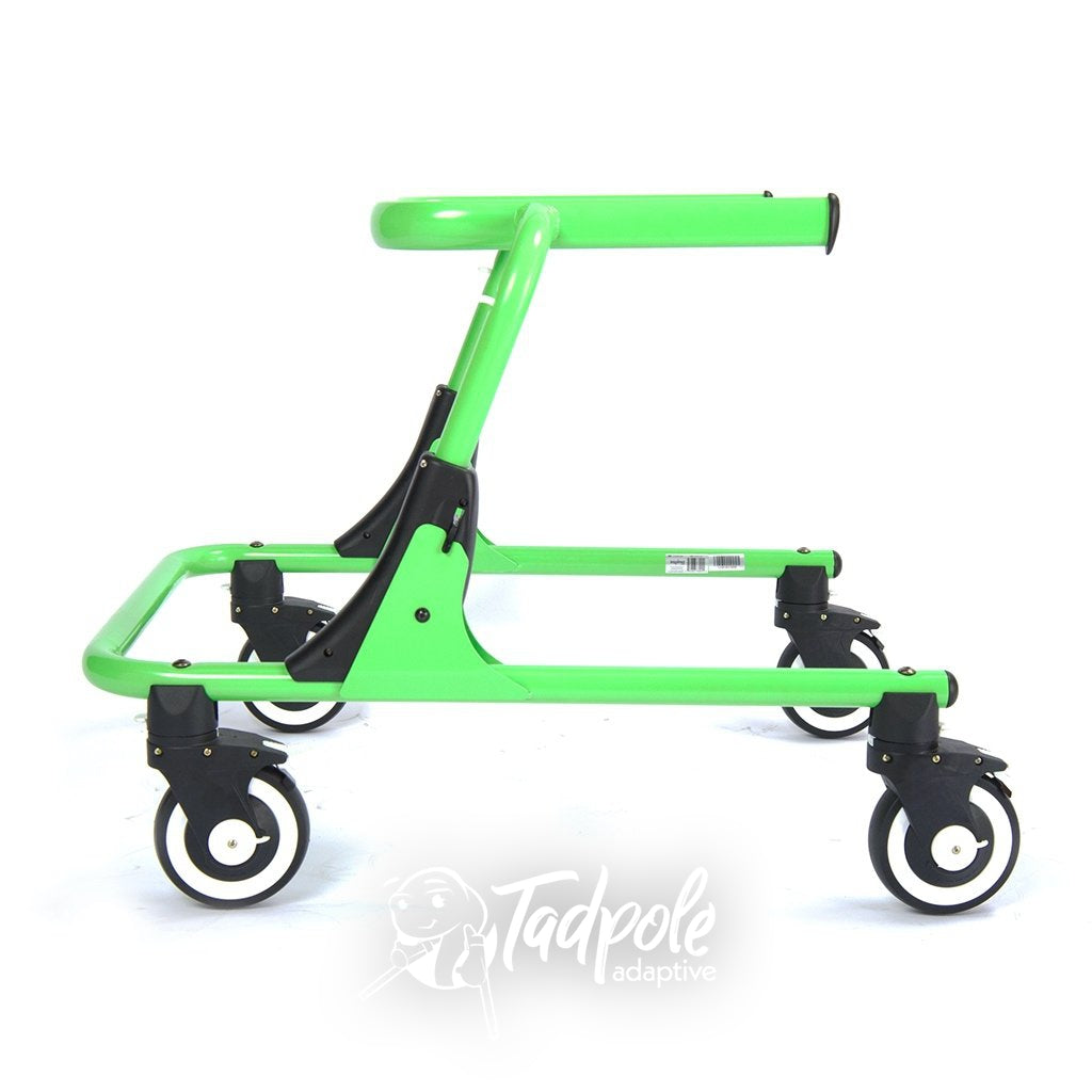 Inspired by Drive Moxie GT Gait Trainer, green, sideview