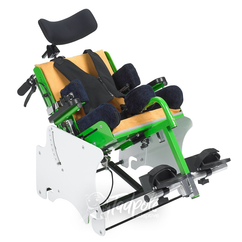 Tilt-in-Space feature of the MSS Tilt Activity Chair.
