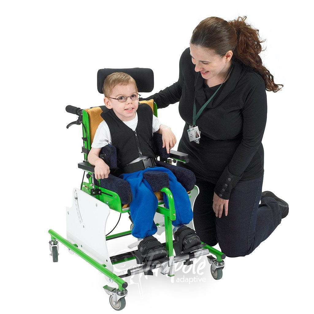 Adjustable growth, while participating in a variety of activities in the MSS Tilt Activity Chair.