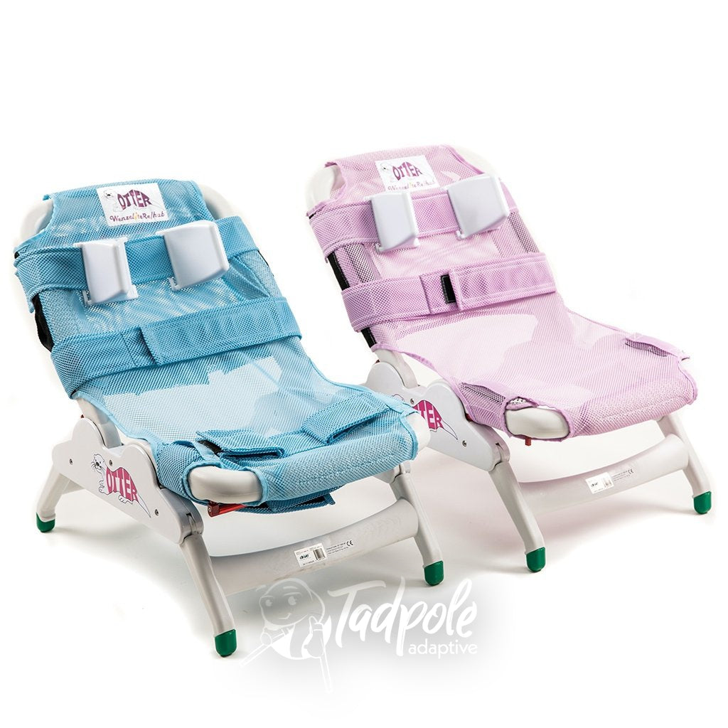 Inspired by Drive Otter Bath Chair Pink & Blue