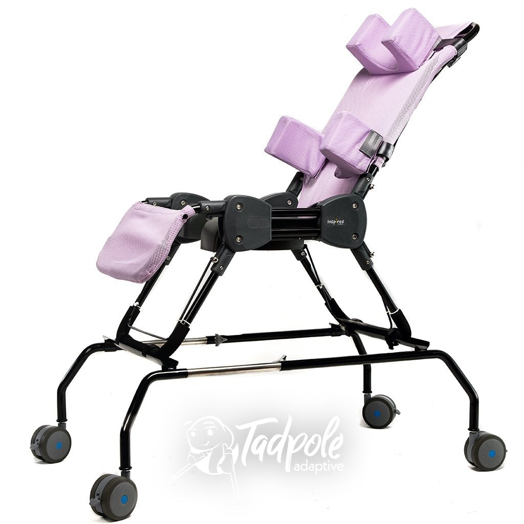 Inspired by Drive Ultima™ Access Bath Chair on the rolling base.