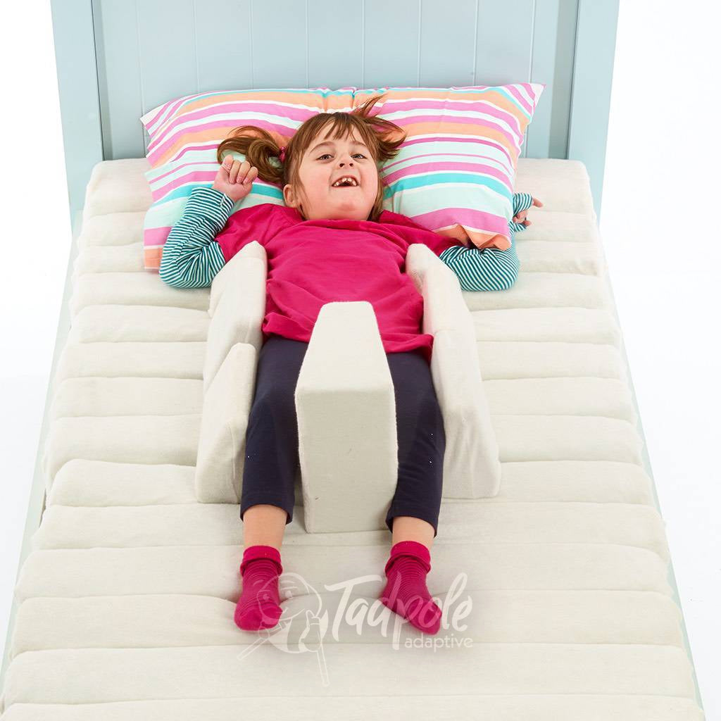 Young girl in bed in her Jenx Dreama - Postural Support Sleeping System, Supine 3