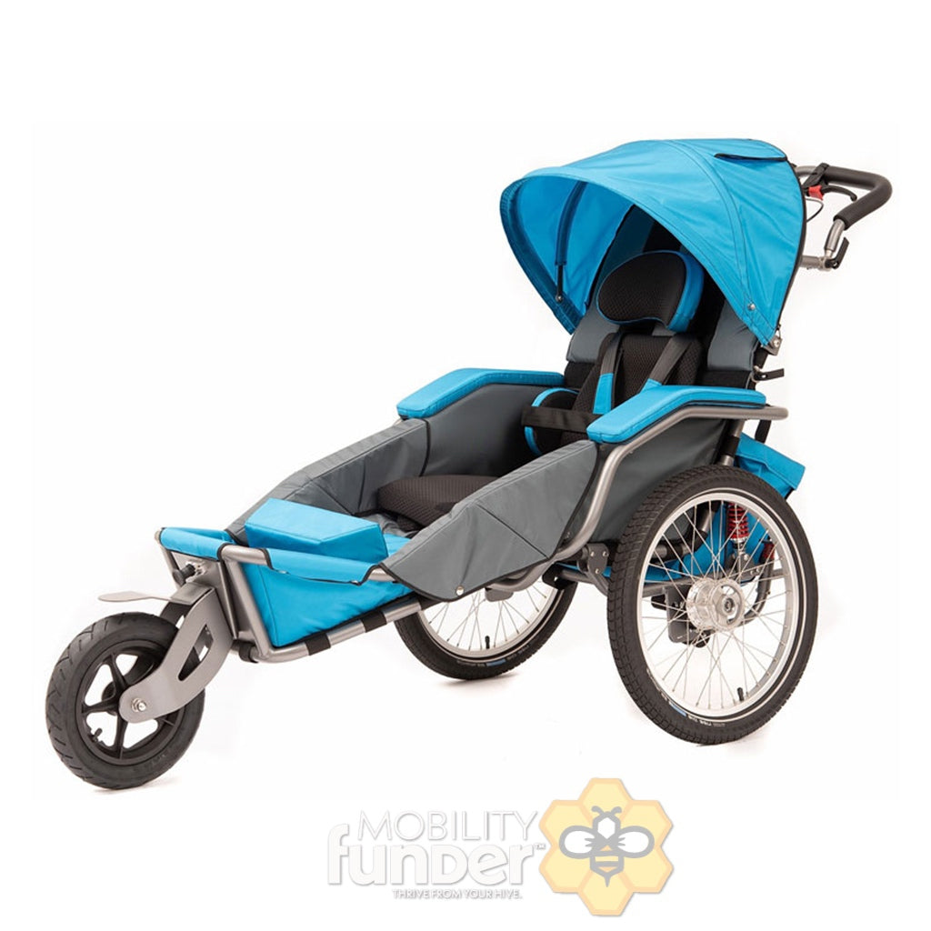 Custom Josi Special Needs Jogging Stroller & Biking Trailer for Austin A.