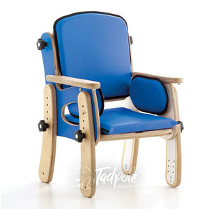 Leckey PAL Classroom Seat, main image in Blue.