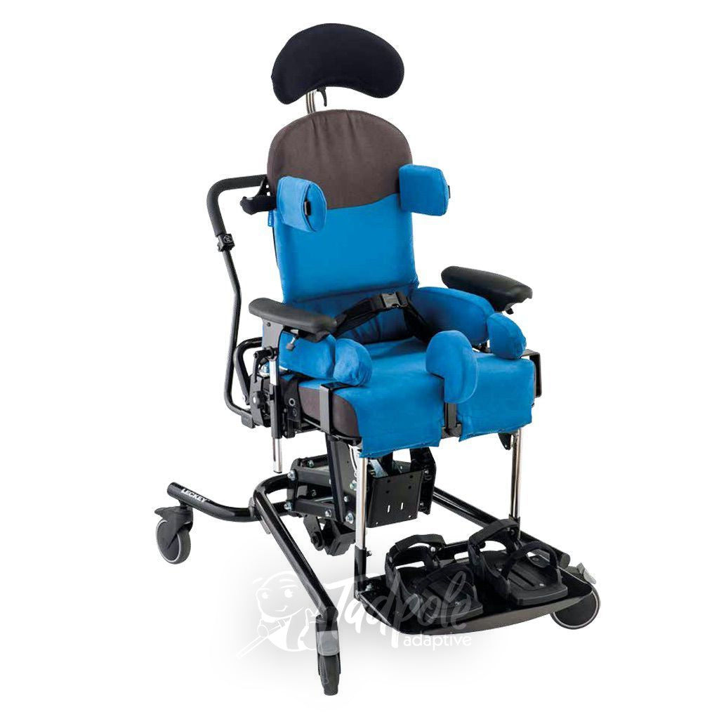 Leckey Everyday Activity Seat in Blue, main image.