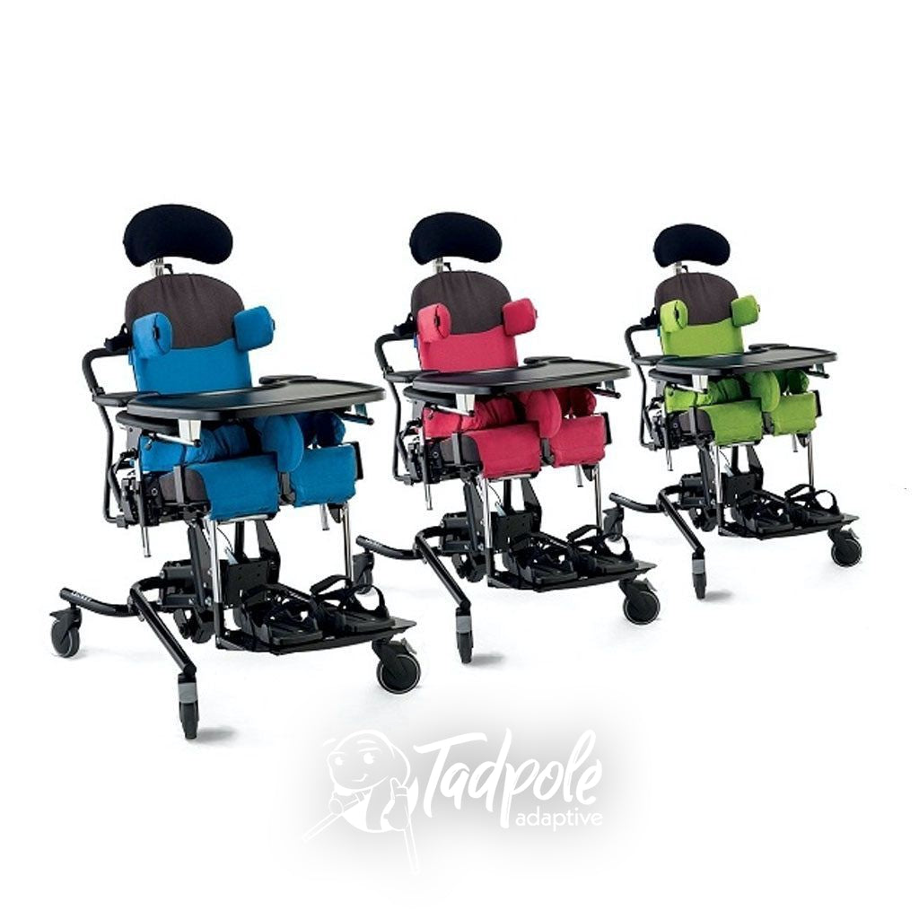 The Leckey Everyday Activity Seat comes in 3 Sizes and 3 Colors.